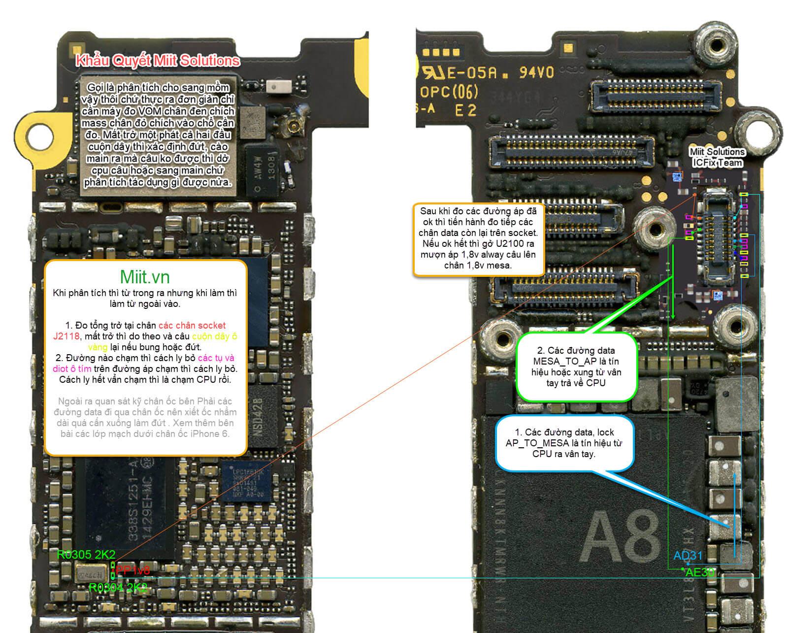 iPhone 6 Lỗi Vân Tay