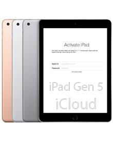 Mở khóa iCloud iPad gen 5 2017