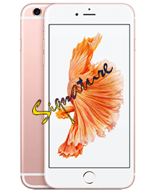 Các linh kiện cần thiết phải ký tên khi sửa iPhone 6S Plus